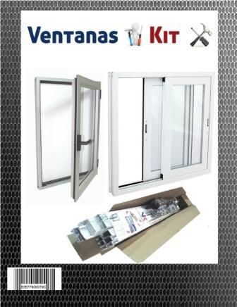 Ventanas de aluminio kit oferta a precio barato ventanas for Ventanas de aluminio economicas